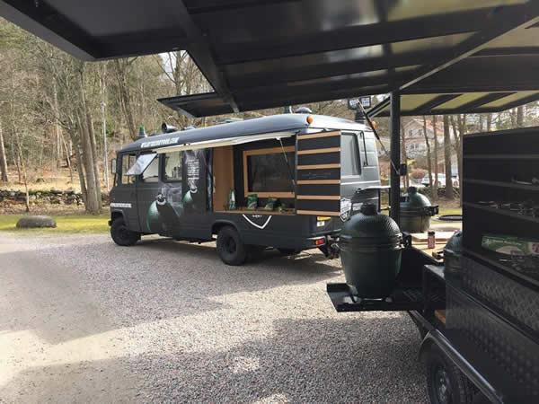 Der Big Green Egg Wildfire Truck