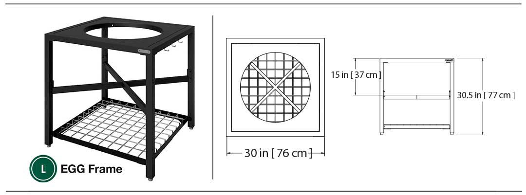 Maße Modulares Nest System Large