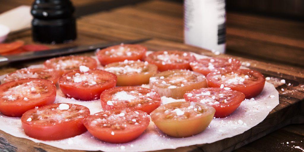 Getrocknete Tomaten im Weckglas