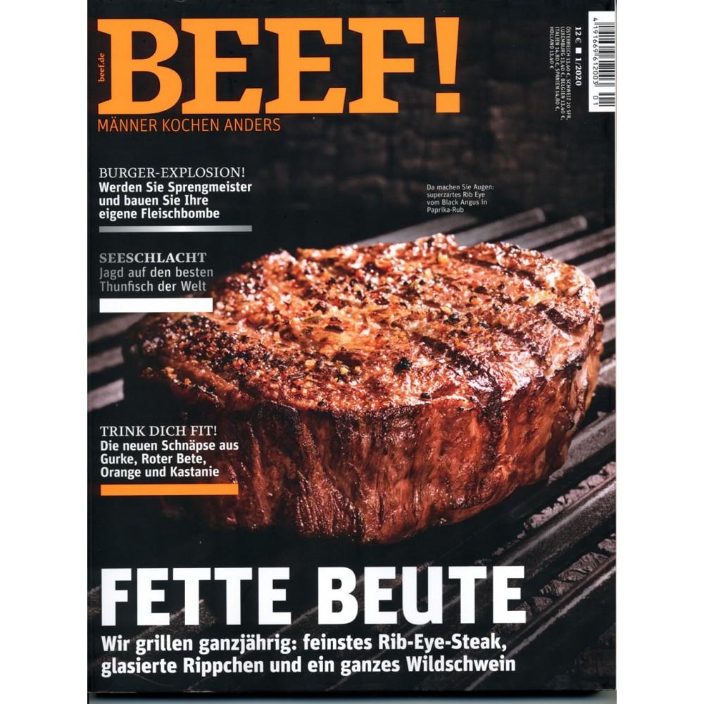 Zeitschrift BEEF!
