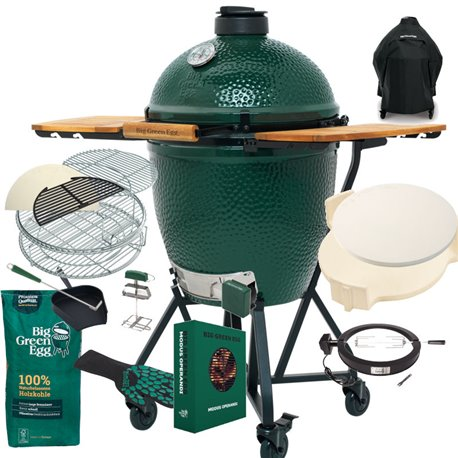 Komplettpaket Big Green Egg Large Gold