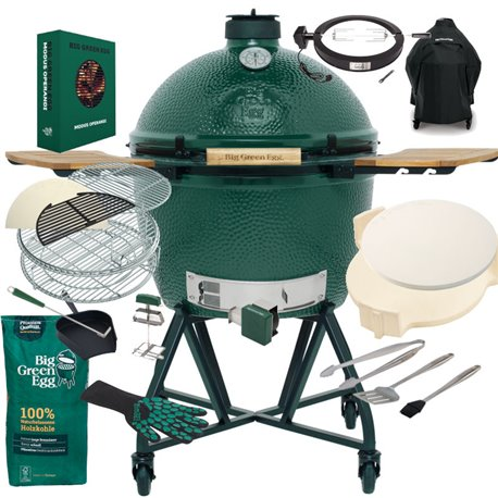 Komplettpaket Big Green Egg XLarge Gold