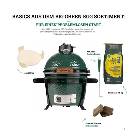 Komplettpaket Big Green Egg Mini