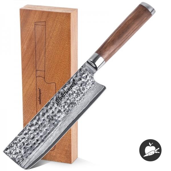 adelmayer® Nakirimesser vor Holzbox
