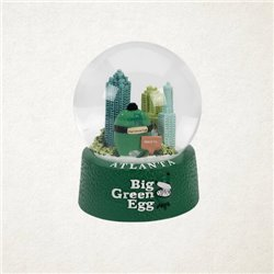 Big Green Egg Snow Globe