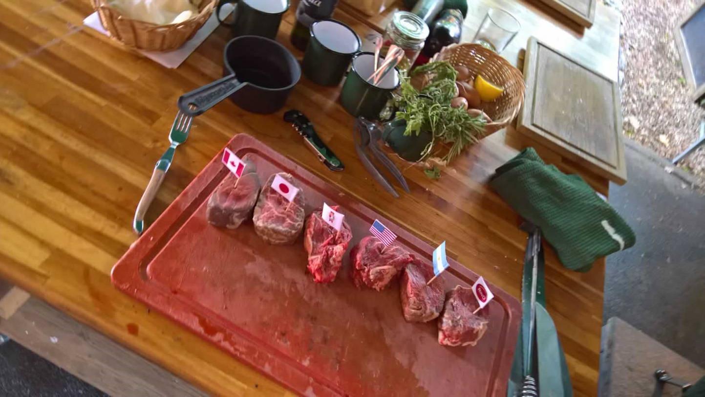 Filets aus aller Welt. Wagyu,Bison,USA,Irish Hereford,Pommersches,Argentinisch