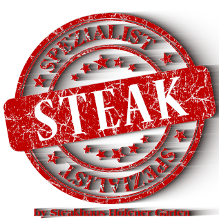 Logo Steakspezialist powered by Steakhaus Höfener Garten