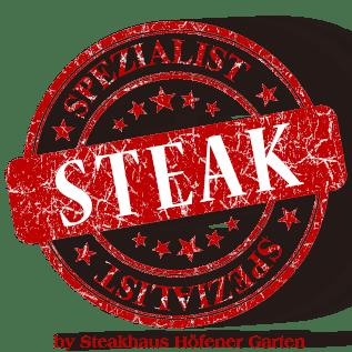 Logo Steakspezialist powered by Steakhaus Höfener Garten