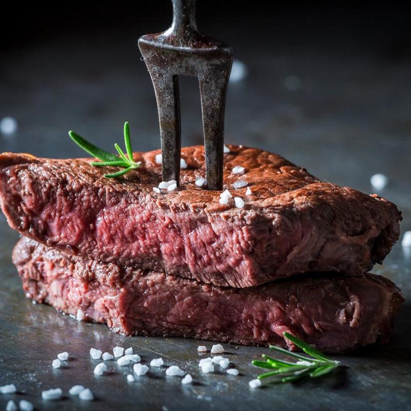 Flank Steak vom Almochsen