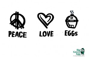 Peace Love EGG
