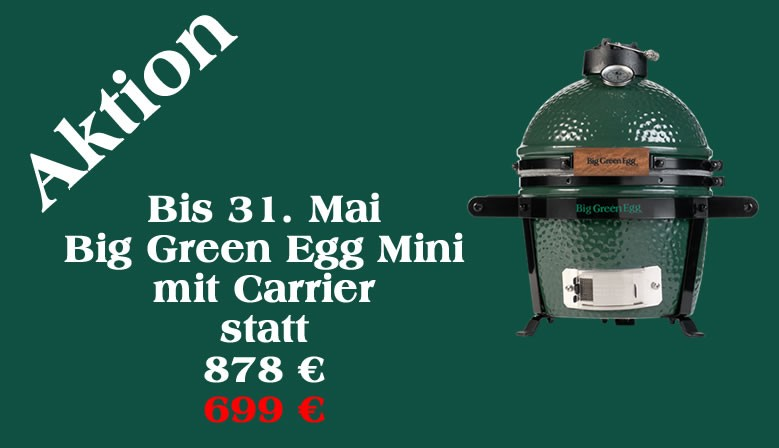 Aktion Big Green Egg Mini